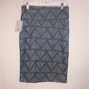 🌈 LulaRoe Cassie Rare Skirt New With Tags 🌈